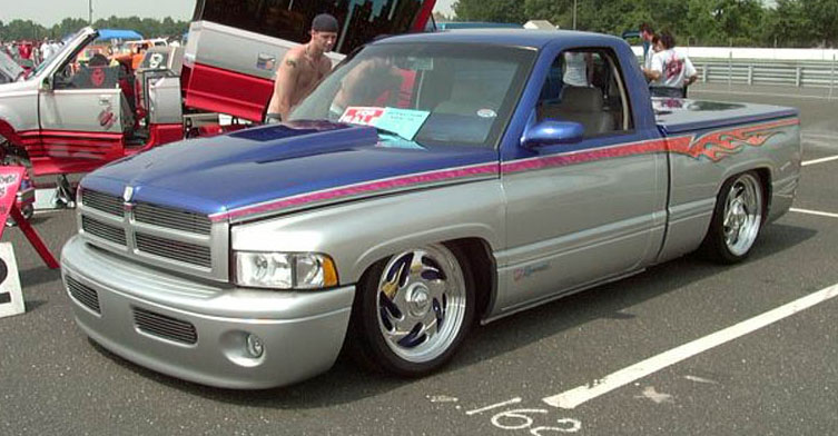 The truck that got me started! Kyle Patrick's 1996 Super Charged Dodge Ram!