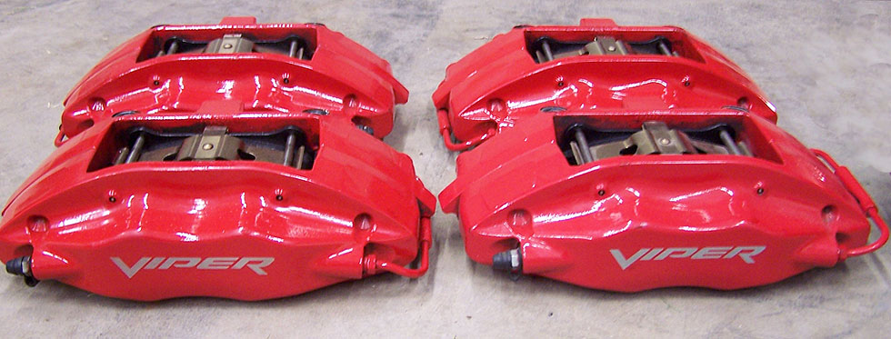 SRT-10 Dodge Viper Calipers made by Brembo.